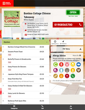 Eat Basic Tablet Website - Zinpify, Milton Keynes