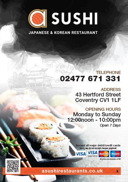A Sushi Takeaway Menu - Zinpify, Milton Keynes