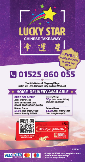 Lucky Star Takeaway Menu - Zinpify, Milton Keynes